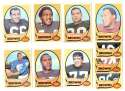 1970 Topps Football (VG Condition Read) Team Set - CLEVELAND BROWNS