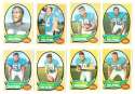 1970 Topps Football (VG Condition Read) Team Set - MIAMI DOLPHINS