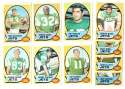 1970 Topps Football (VG Condition Read) Team Set - NEW YORK JETS