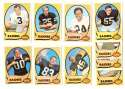1970 Topps Football (VG Condition Read) Team Set - OAKLAND RAIDERS