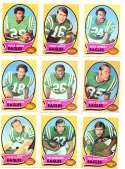 1970 Topps Football (VG Condition Read) Team Set - PHILADELPHIA EAGLES