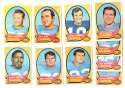 1970 Topps Football (VG Condition Read) Team Set - SAN DIEGO CHARGERS