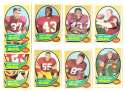 1970 Topps Football (VG Condition Read) Team Set - WASHINGTON REDSKINS