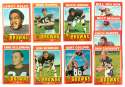 1971 Topps Football Team Set (EX Condition) - CLEVELAND BROWNS