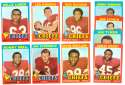 1971 Topps Football Team Set (EX Condition) - KANSAS CITY CHIEFS