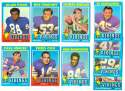 1971 Topps Football Team Set (EX Condition) - MINNESOTA VIKINGS