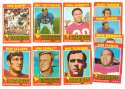 1971 Topps Football Team Set (EX Condition) - NEW ENGLAND PATRIOTS
