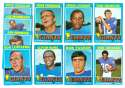 1971 Topps Football Team Set (EX Condition) - NEW YORK GIANTS