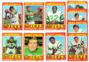 1971 Topps Football Team Set (EX Condition) - NEW YORK JETS