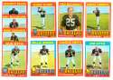 1971 Topps Football Team Set (EX Condition) - OAKLAND RAIDERS