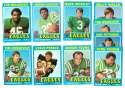 1971 Topps Football Team Set (EX Condition) - PHILADELPHIA EAGLES
