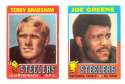 1971 Topps Football Team Set (EX Condition) - PITTSBURGH STEELERS ** read