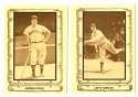 1980 Cramer Baseball Legends - BOSTON RED SOX Team Set