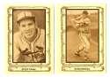 1980 Cramer Baseball Legends - ST LOUIS CARDINALS Team Set