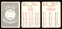 1950 APBA (reprint Written On) Season - PHILADELPHIA ATHLETICS / As Team Set