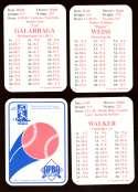 1996 APBA Season w/ EX Players - COLORADO ROCKIES Team Set
