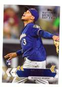 2017 Topps National Baseball Card Day - MILWAUKEE BREWERS