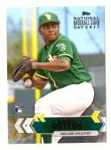 2017 Topps National Baseball Card Day - OAKLAND As