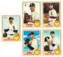 2017 Topps Heritage High Hi Numbers (501-725) - CHICAGO WHITE SOX
