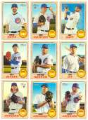 2017 Topps Heritage High Hi Numbers - CHICAGO CUBS