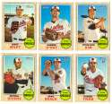 2017 Topps Heritage High Hi Numbers (501-700) - BALTIMORE ORIOLES