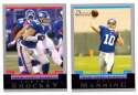 2004 Bowman Football Team Set - NEW YORK GIANTS