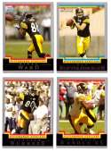 2004 Bowman Football Team Set - PITTSBURGH STEELERS