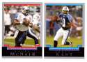 2004 Bowman Football Team Set - TENNESSEE TITANS