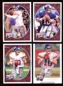 2008 Upper Deck Heroes Eli Manning 41-44 New York Giants