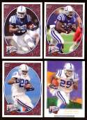 2008 Upper Deck Heroes Joseph Addai 49-52 Indianapolis Colts