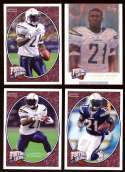 2008 Upper Deck Heroes LaDainian Tomlinson 57-60 San Diego Chargers