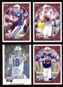 2008 Upper Deck Heroes Peyton Manning 77-80 Indianapolis Colts