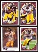2008 Upper Deck Heroes Willie Parker 97-100 Pittsburgh Steelers