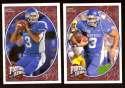 2008 Upper Deck Heroes Andre Woodson RC 105-106 Kentucky Wildcats