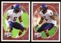 2008 Upper Deck Heroes Antoine Cason RC 107-108 Arizona Wildcats