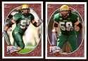 2008 Upper Deck Heroes Ben Moffitt RC 111-112 South Florida Bulls