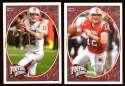 2008 Upper Deck Heroes Brian Brohm RC 113-114 Louisville Cardinals