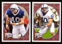 2008 Upper Deck Heroes Dan Connor RC 129-130 Penn State Nittany Lions