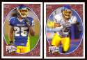 2008 Upper Deck Heroes Dwight Lowery RC 139-140 San Jose State Spartans
