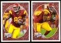 2008 Upper Deck Heroes Fred Davis RC 145-146 USC Trojans
