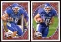 2008 Upper Deck Heroes Jacob Tamme RC 149-150 Kentucky Wildcats