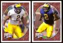 2008 Upper Deck Heroes Shawn Crable RC 153-154 Michigan Wolverines