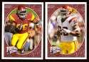2008 Upper Deck Heroes Lawrence Jackson RC 169-170 USC Trojans