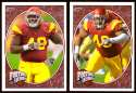 2008 Upper Deck Heroes Sedrick Ellis RC 191-192 USC Trojans