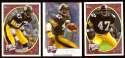 2008 Upper Deck Heroes Mel Blount 219-221 Pittsburgh Steelers