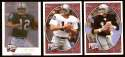 2008 Upper Deck Heroes Ken Stabler 234-236 Oakland Raiders