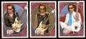 2008 Upper Deck Heroes Steve Vai 249-251 Guitar Heroes