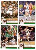 2016-17 Panini Excalibur Basketball Team Set - Boston Celtics