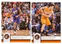 2016-17 Panini Excalibur Basketball Team Set - Phoenix Suns