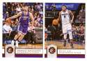2016-17 Panini Excalibur Basketball Team Set - Sacramento Kings
